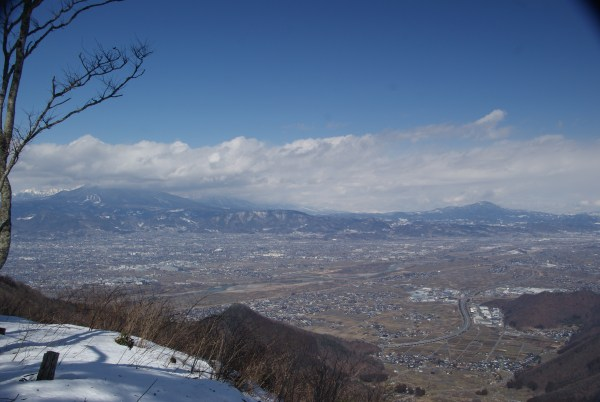 若穂太郎山からの展望